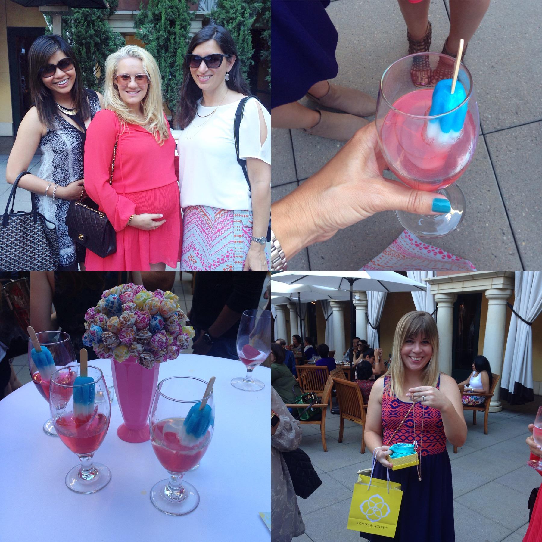 santana row and hotel valencia summer kickoff poptail party