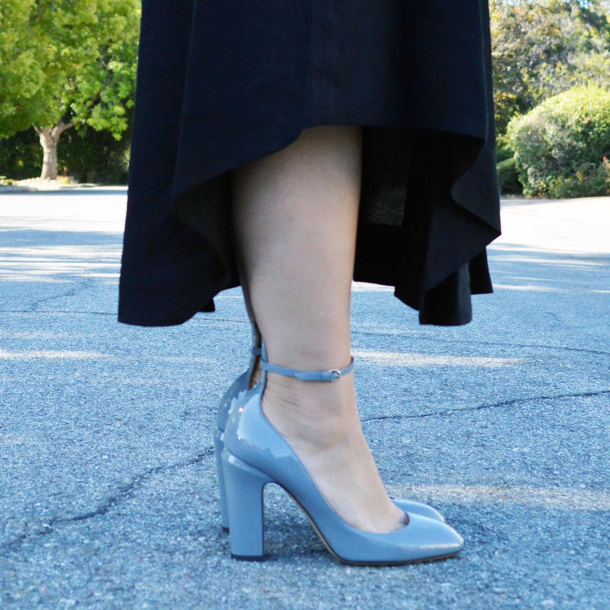 valentino tango pumps light blue