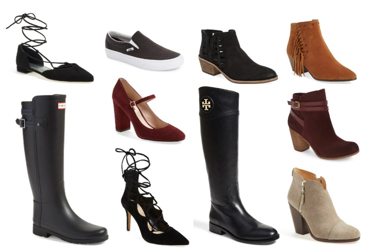 Favorite shoes and boots from Nordstrom Anniversary Sale 2016