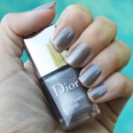 Dior Steel Grey nail polish for fall 2016 review