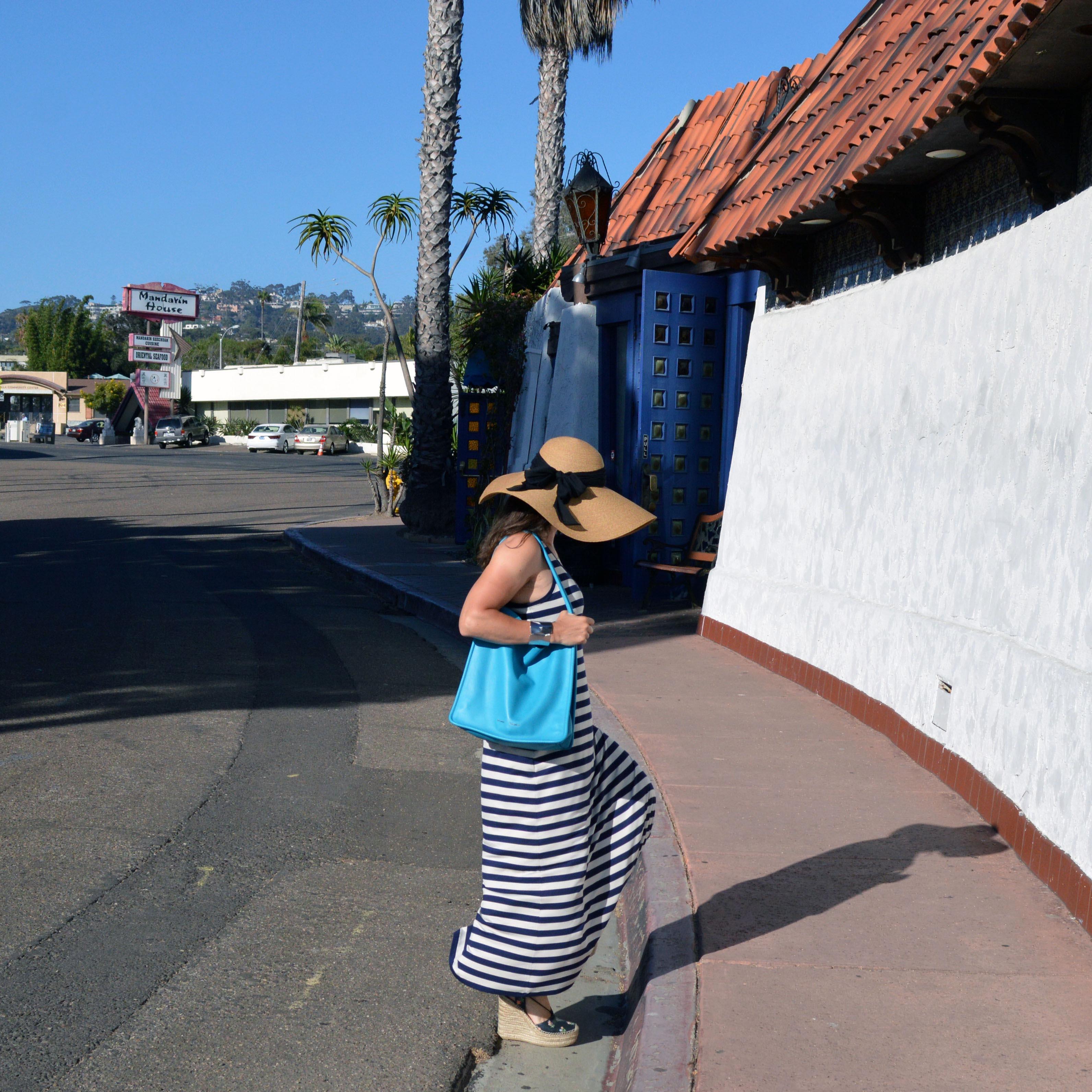 beach town outfit idea