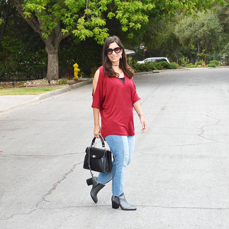 pre fall outfit idea