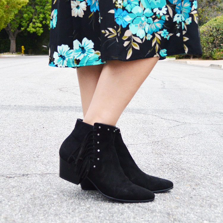 how wear booties dress fall 2016