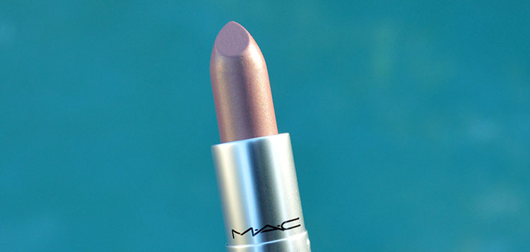 MAC Frost Lipstick in Fabby review