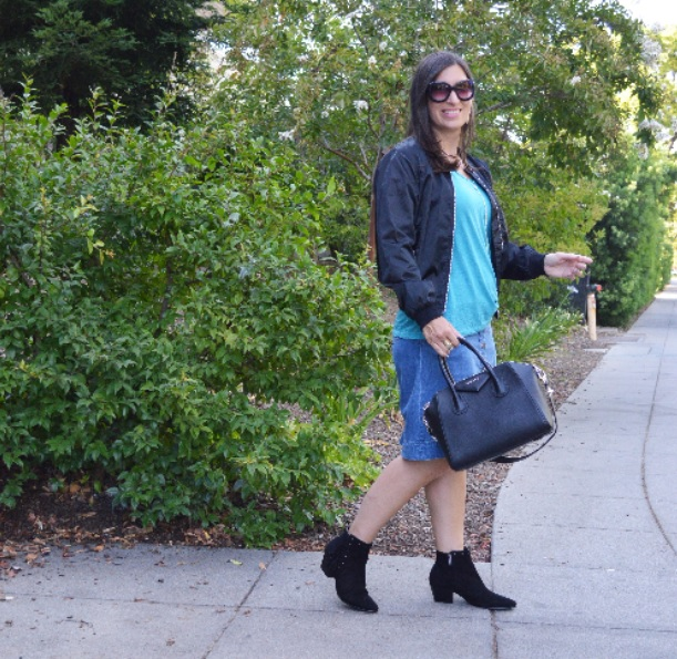 summer into fall outfit idea