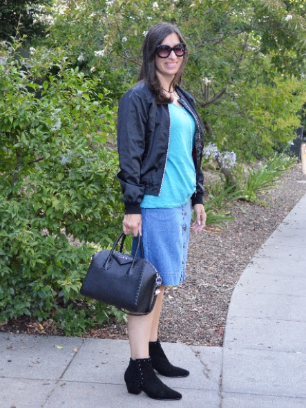 transitional summer into fall outfit idea