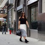 Fall lace at fashion week