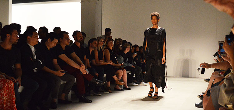 demooparkchoonmoo spring 2017 nyfw black dress