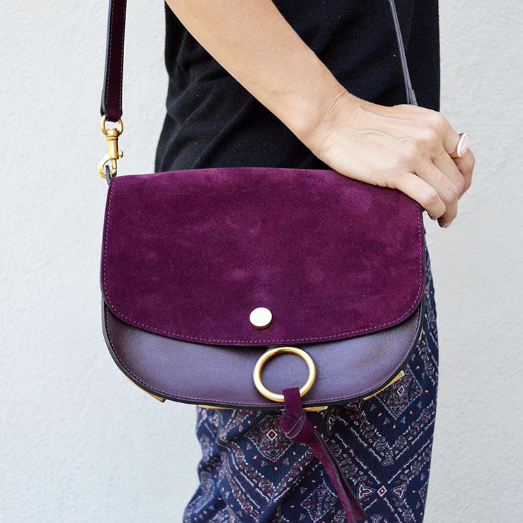 chloe kurtis dark purple