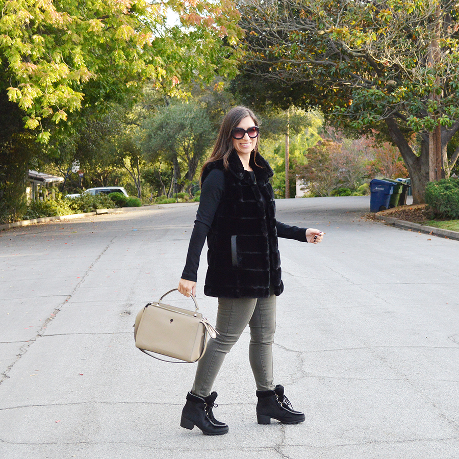 how to wear military green pants