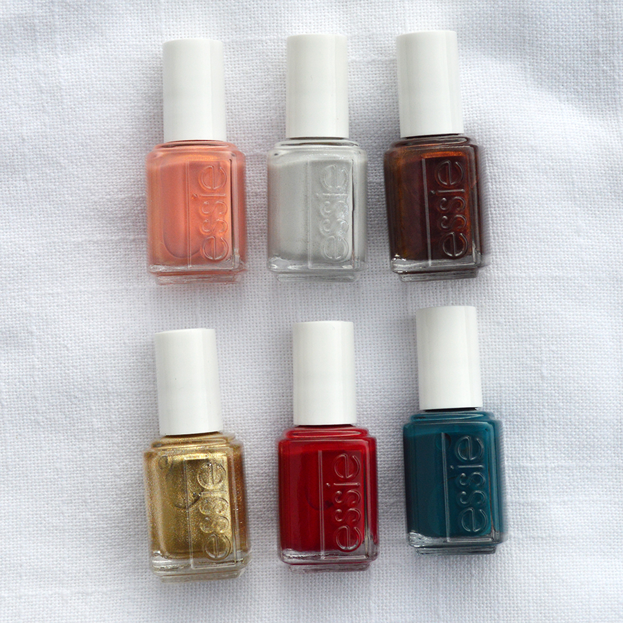 essie winter nail polish collection