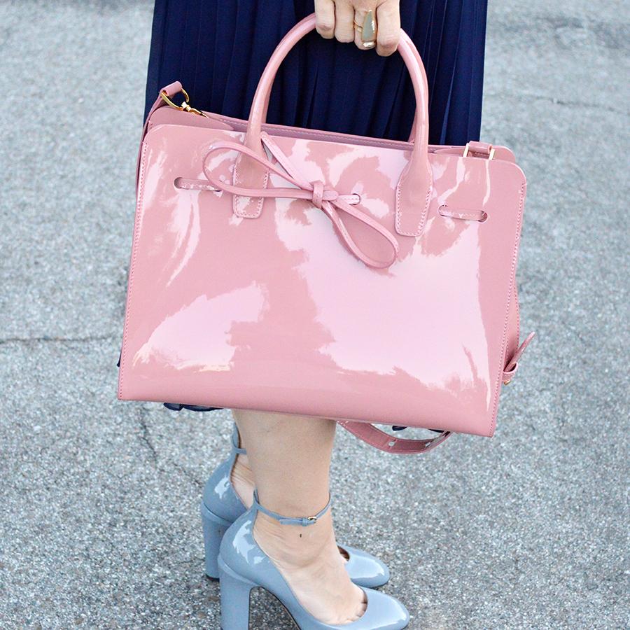 valentino tango shoes mansur gavriel sun handbag