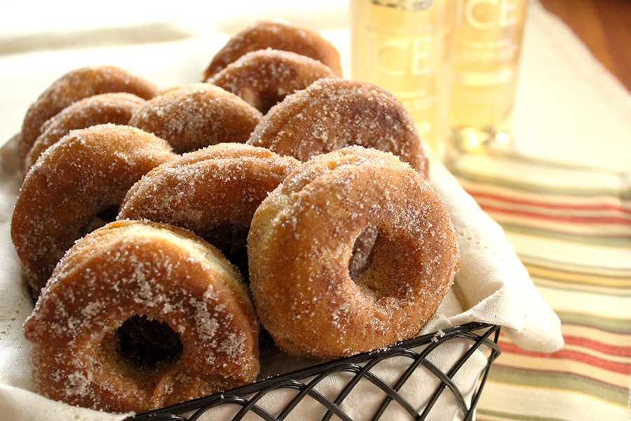 how to make apple donuts
