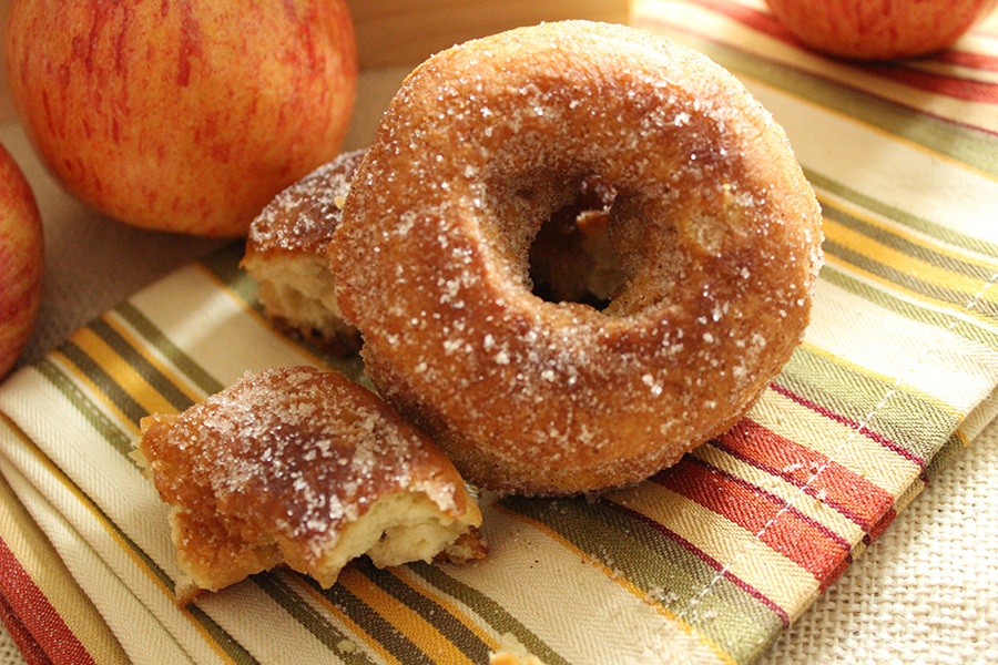 how to make crisp apple donuts sparkling ice