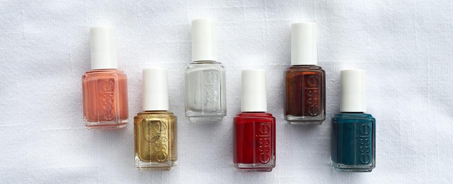 essie winter nail polish collection