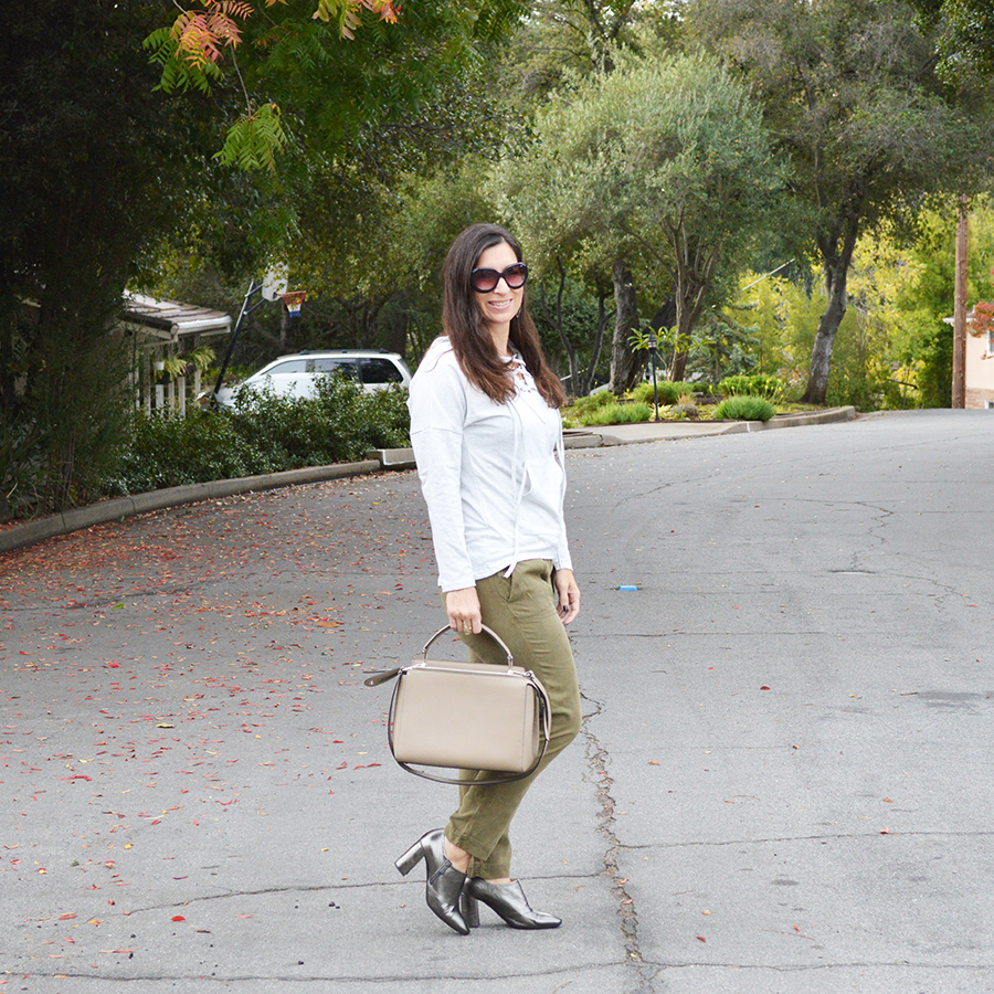 how to wear military green