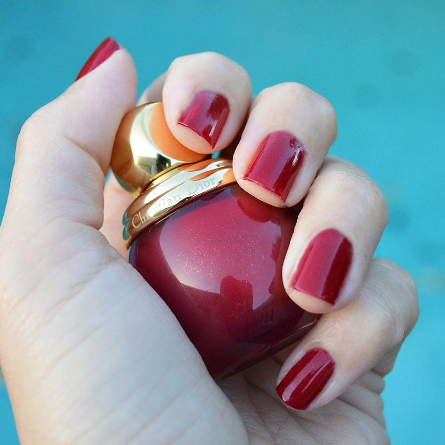 beautiful holiday nail polish color