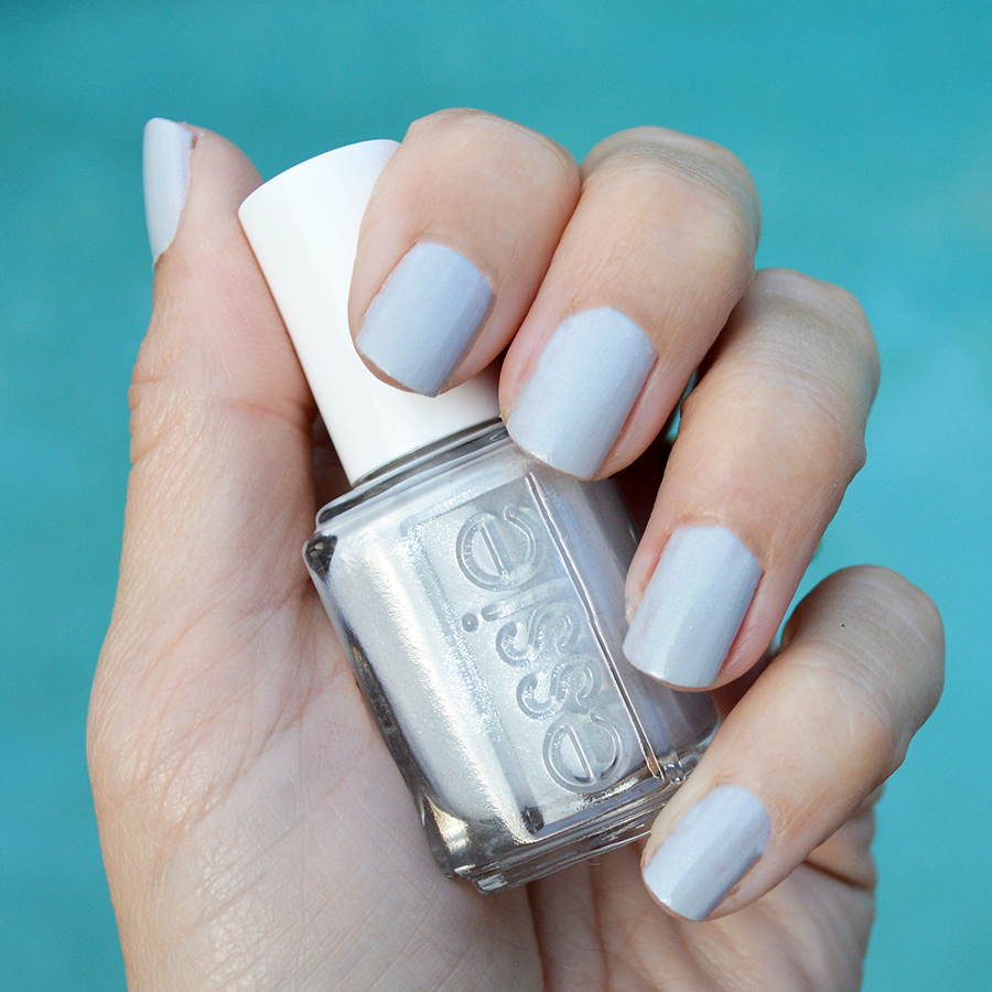 essie go with the flowy nail polish review winter collection