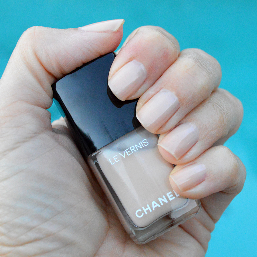 chanel blanc white nail polish spring 2017