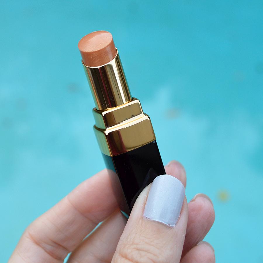 chanel rouge coco shine beige dore lipstick spring 2017