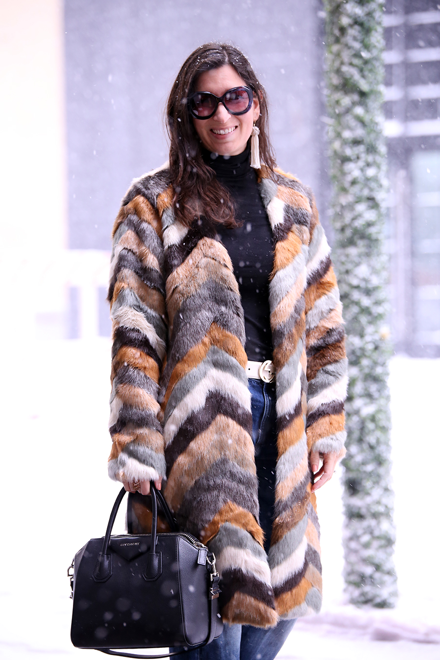 how to dress at new york fashion week in the winter