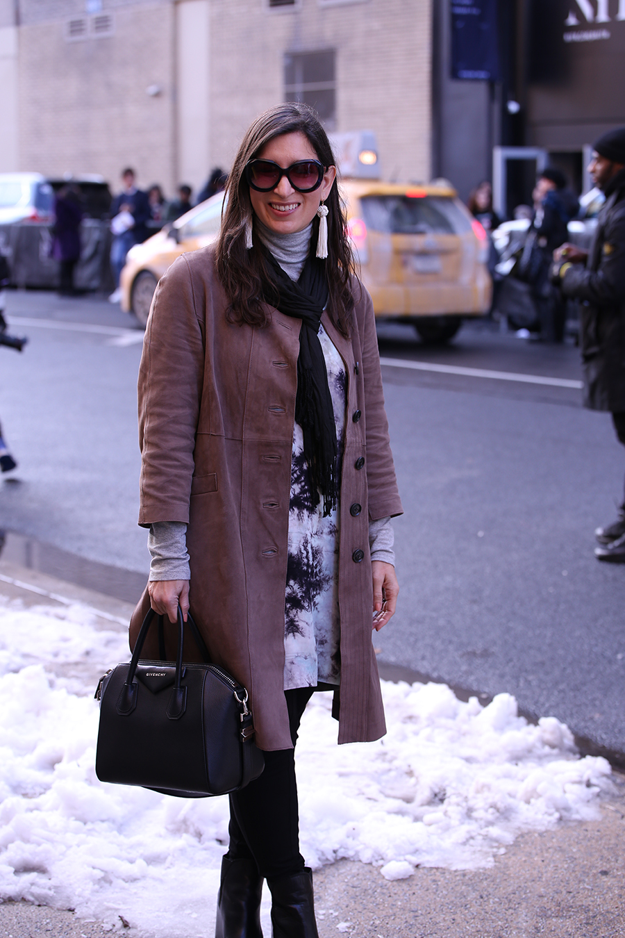 february new york fashion week street style
