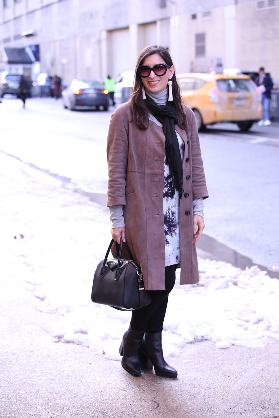 how to dress at nyfw in winter