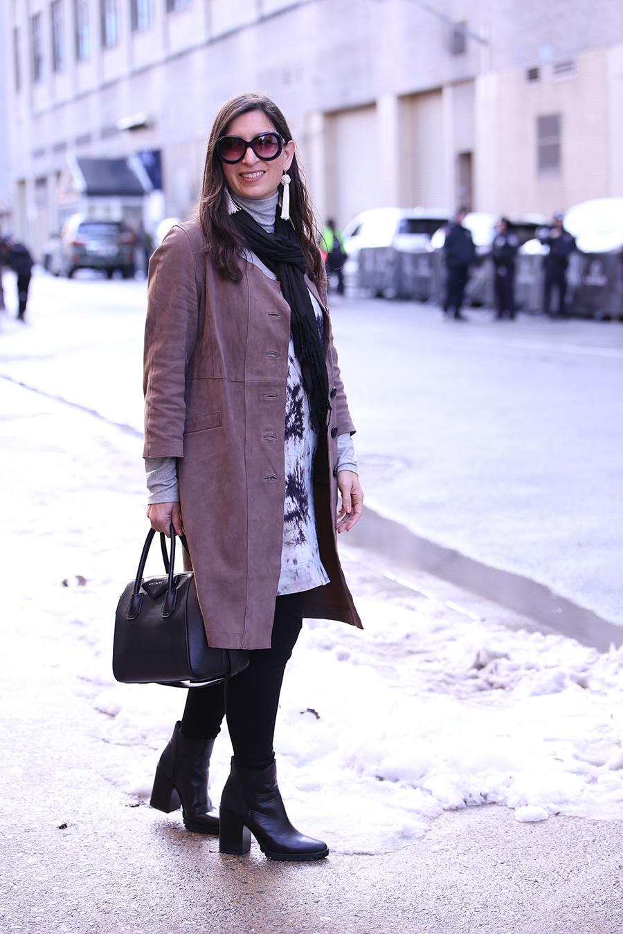 thacker nyc at new york fashion week