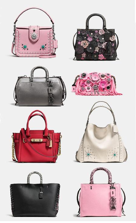 coach spring 2017 handbags