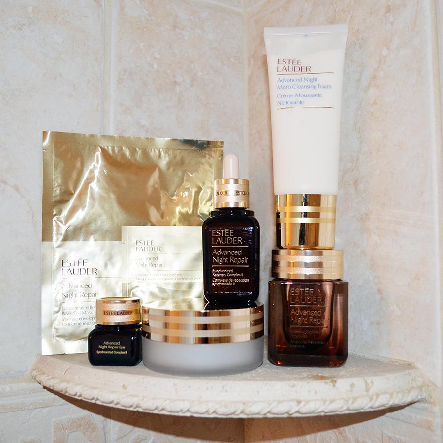 estee lauder night repair skin care review