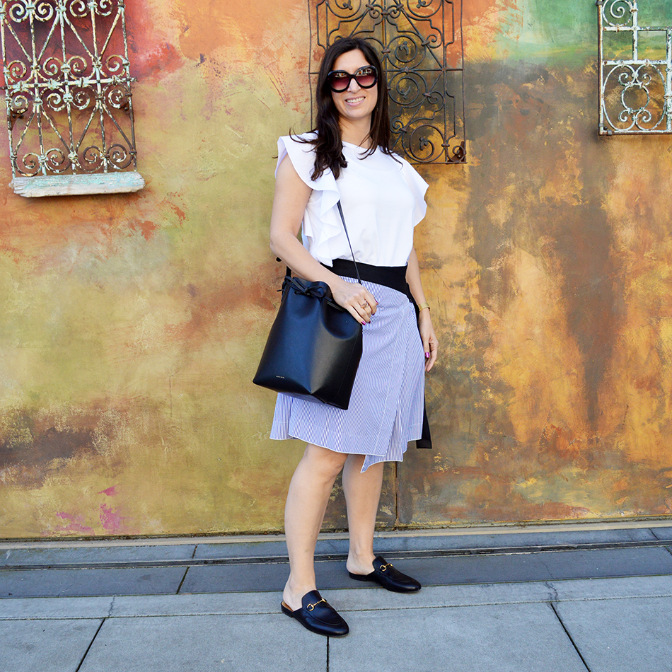 how to wear asymmetrical hemlines