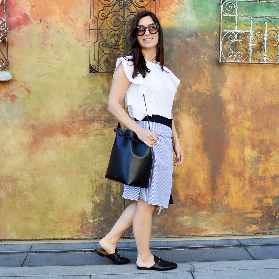 how to style asymmetrical hemlines
