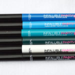 L'Oreal Paris Infallible Paints collection for spring