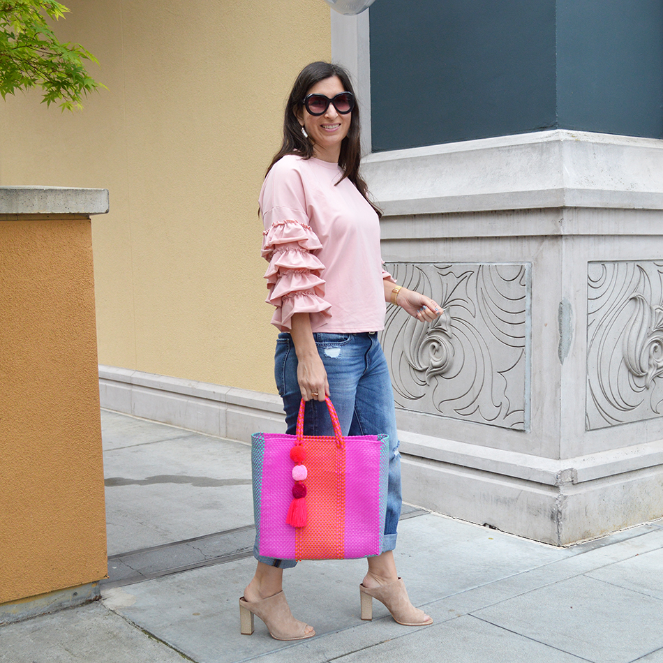 ruffle sleeves for spring