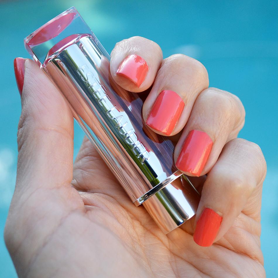 estee lauder pure color love lipstick review