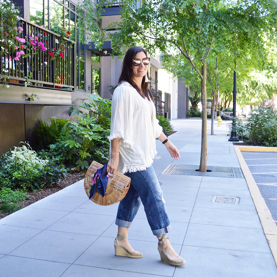 spring into summer outfit idea