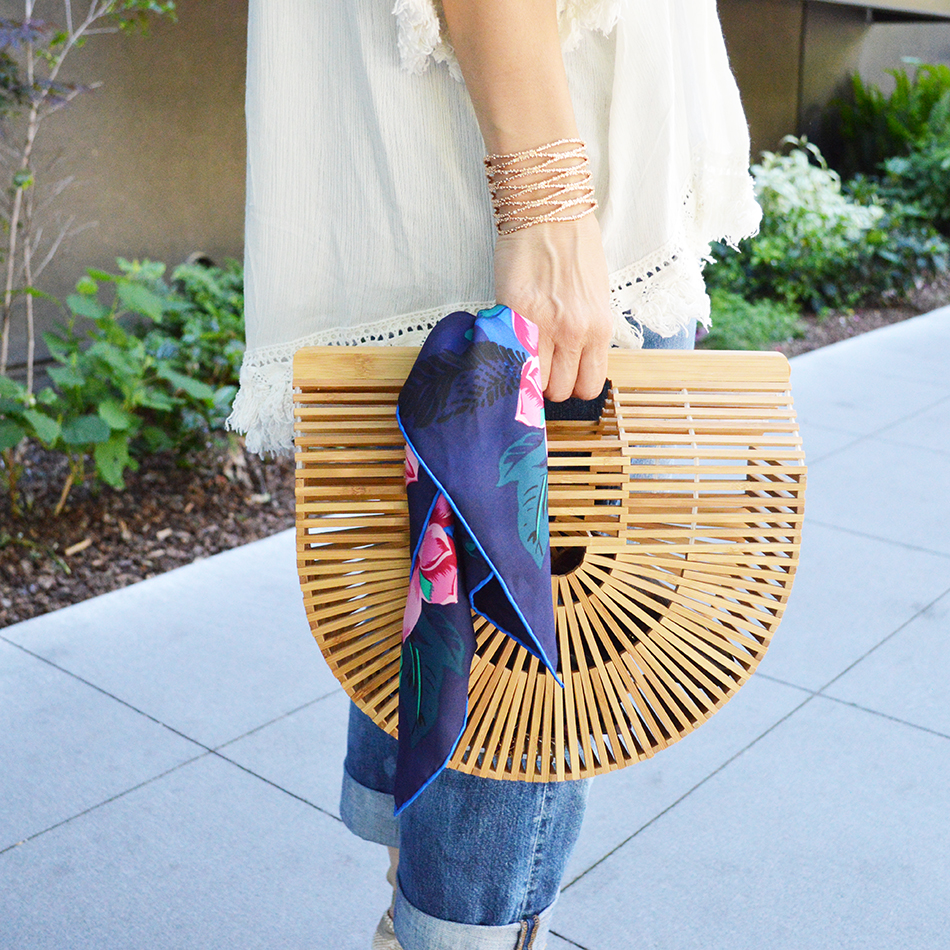 how to wear the cult gaia ark bag