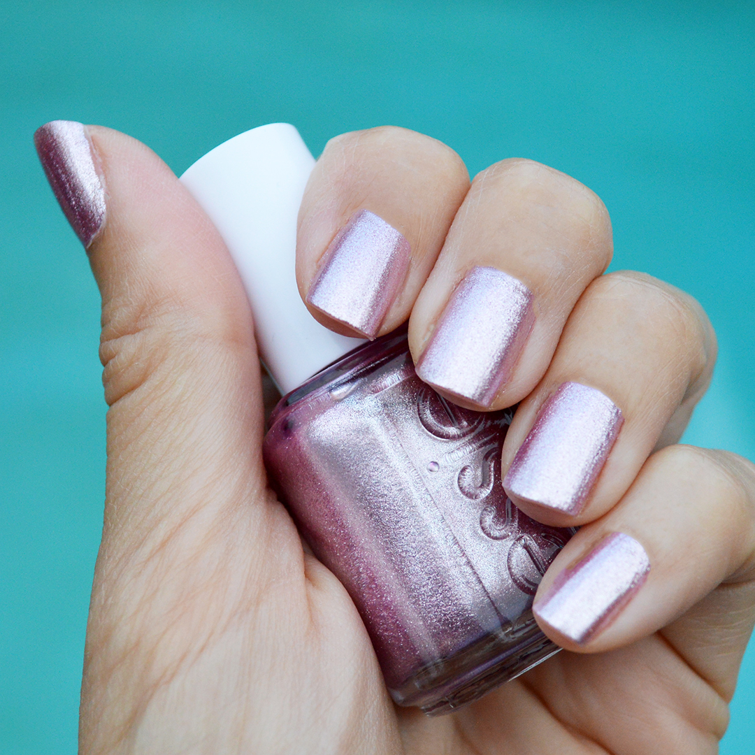 Sil Vous Plait By Essie Is A Sparkling Dark Lavender Nail Polish Which Beautifully Eye Catching In The Summer Sun This My Second Favorite Color