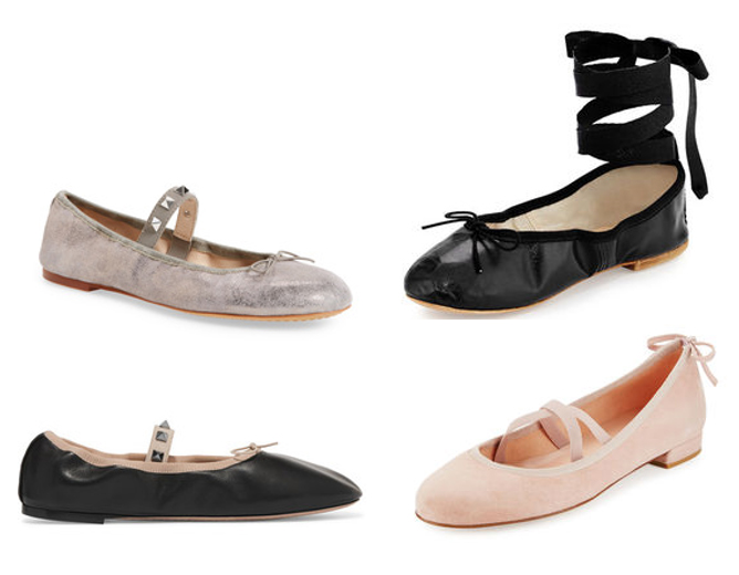 ballet flats summer 2017 shoe trends