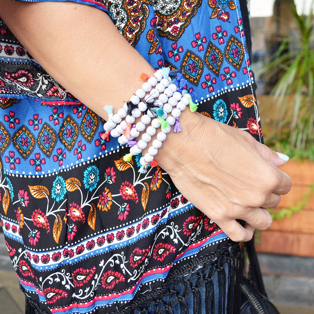 colorful summer bracelets