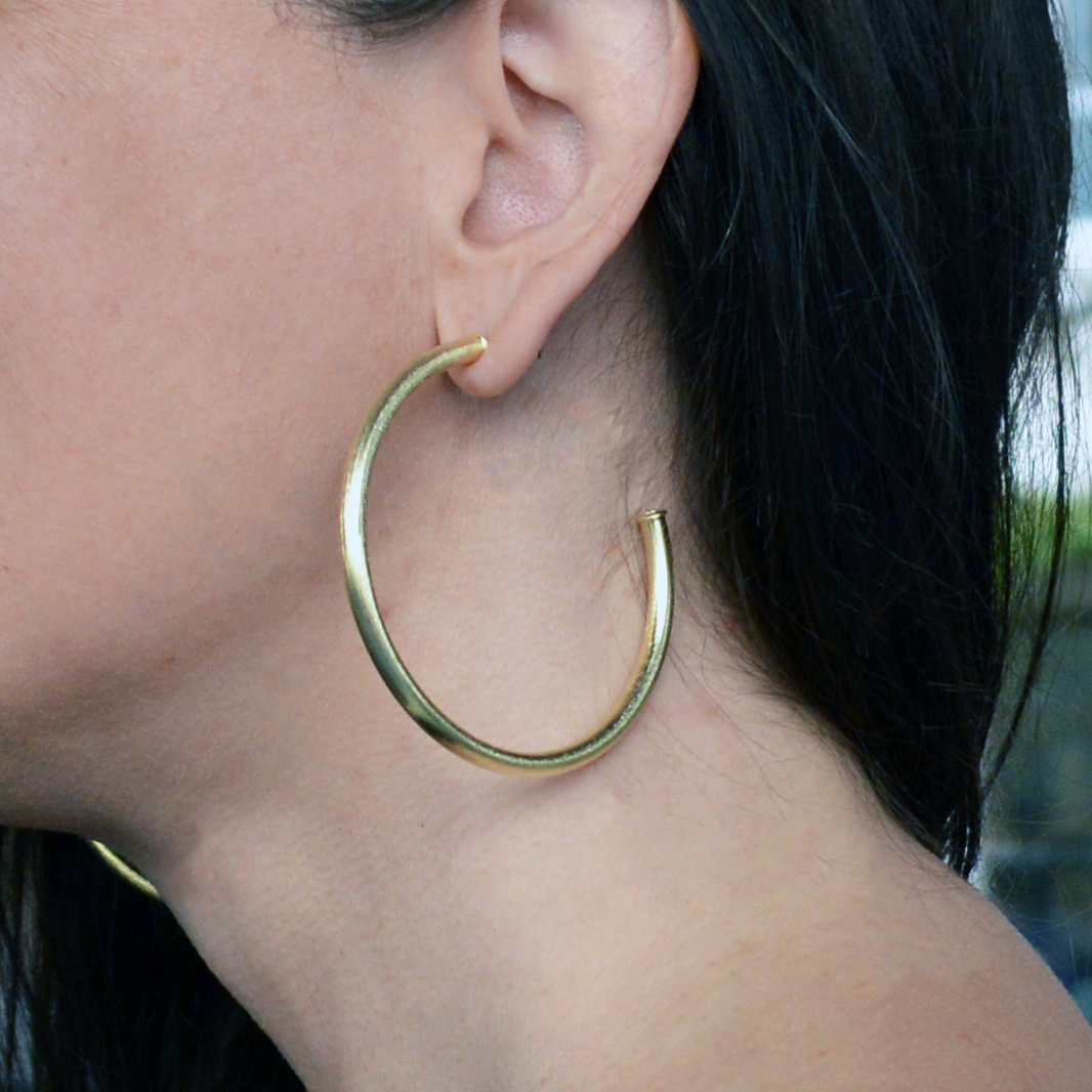 sheila fajl large hoop earrings
